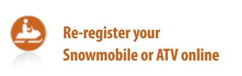 Re-register your Snowmobile or ATV online Opens in new window